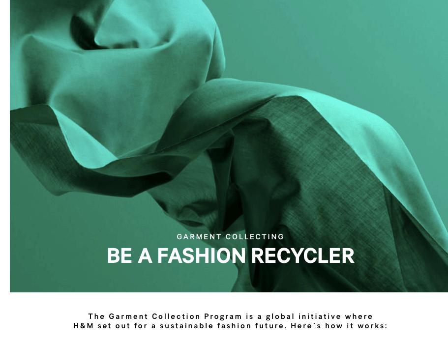 H&M sustainability image