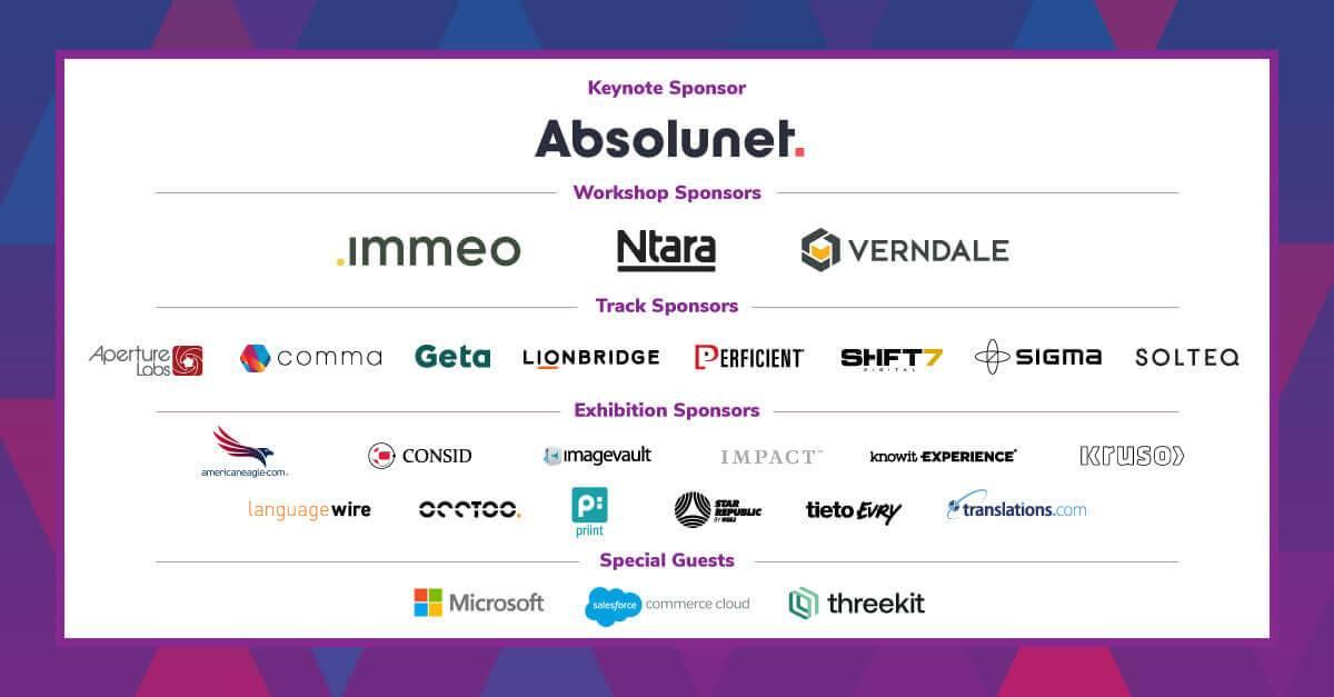 PIMpoint Digital sponsors