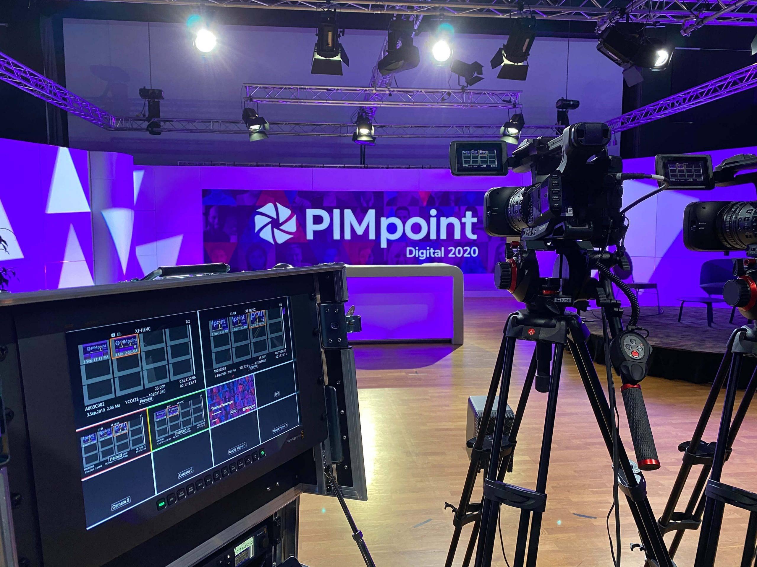 The PIMpoint Digital studio